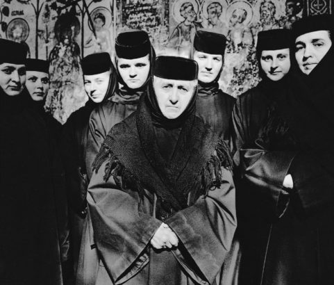 Orthodox Nuns, Moldavia, Romania