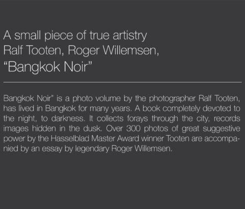 BANGKOK NOIR ART BOOK & EXHIBITION
