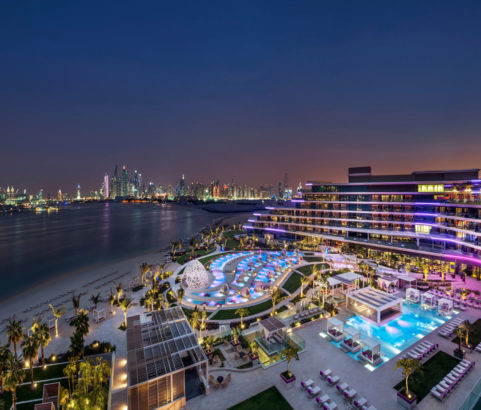 The Palm, Dubai, UAE.