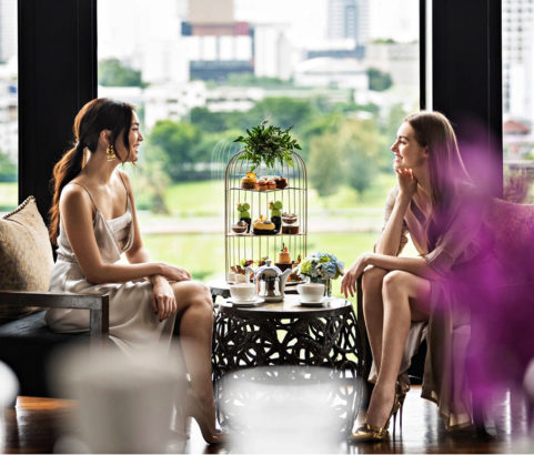 St Regis Bangkok, Afternoon Tea at Living Room, Thailand