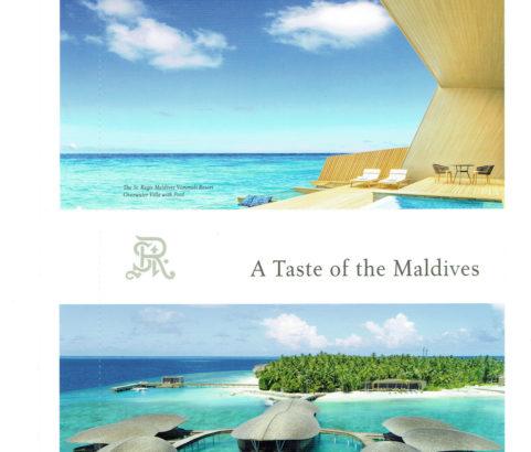 St.Regis Maldives (Postcard)