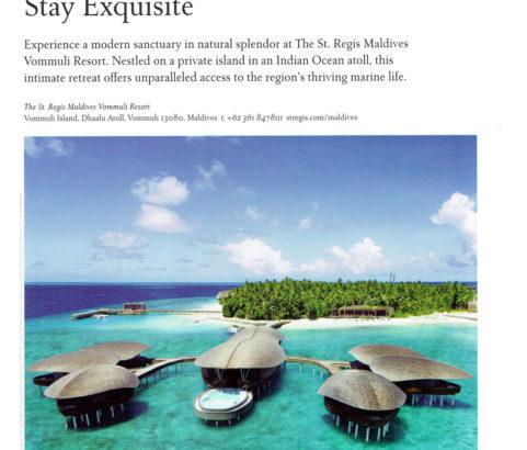 St.Regis Maldives