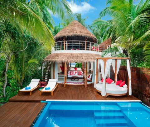 FESDU ISLAND, MALDIVES